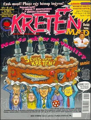 Kretén Magazine #35 • Hungary • 1st Edition - Kreten