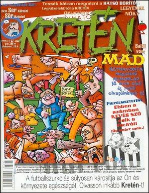 Kretén Magazine #37 • Hungary • 1st Edition - Kreten