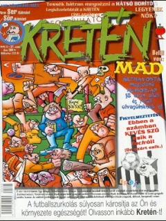 Go to Kretén Magazine #37 • Hungary • 1st Edition - Kreten