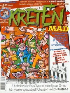 Go to Kretén Magazine #37 • Hungary • 1st Edition - Kreten