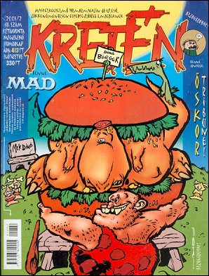 Kretén Magazine #48 • Hungary • 1st Edition - Kreten