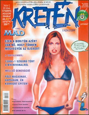 Kretén Magazine #49 • Hungary • 1st Edition - Kreten