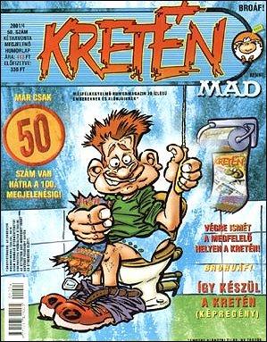 Kretén Magazine #50 • Hungary • 1st Edition - Kreten