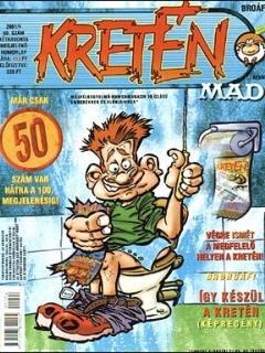 Go to Kretén Magazine #50 • Hungary • 1st Edition - Kreten