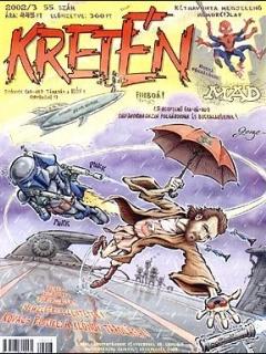 Go to Kretén Magazine #55 • Hungary • 1st Edition - Kreten