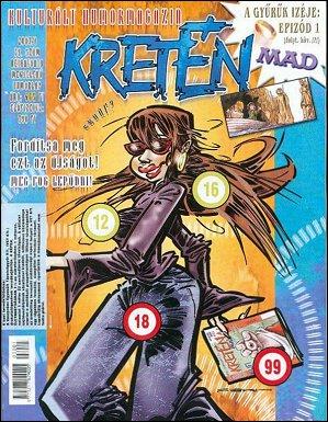 Kretén Magazine #59 • Hungary • 1st Edition - Kreten