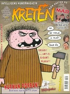 Go to Kretén Magazine #63 • Hungary • 1st Edition - Kreten