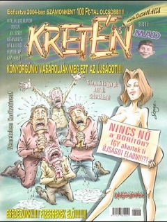 Go to Kretén Magazine #64 • Hungary • 1st Edition - Kreten