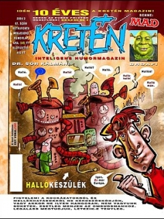 Go to Kretén Magazine #68 • Hungary • 1st Edition - Kreten