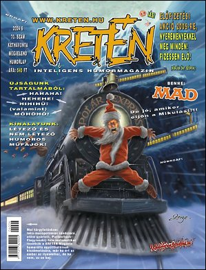 Kretén Magazine #70 • Hungary • 1st Edition - Kreten
