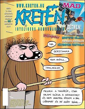 Kretén Magazine #74 • Hungary • 1st Edition - Kreten