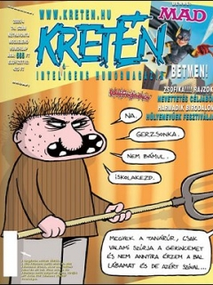 Go to Kretén Magazine #74 • Hungary • 1st Edition - Kreten