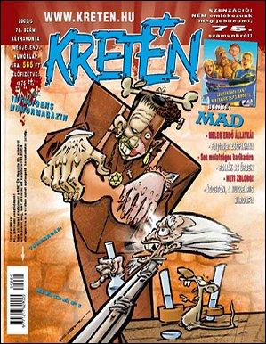 Kretén Magazine #75 • Hungary • 1st Edition - Kreten