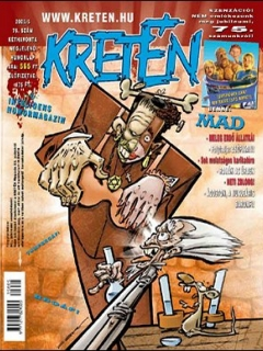 Go to Kretén Magazine #75 • Hungary • 1st Edition - Kreten