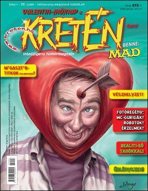 Kretén Magazine #77 • Hungary • 1st Edition - Kreten