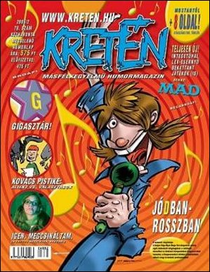Kretén Magazine #78 • Hungary • 1st Edition - Kreten
