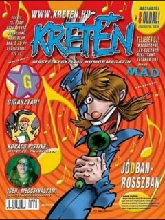 Go to Kretén Magazine #78 • Hungary • 1st Edition - Kreten