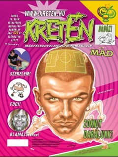 Go to Kretén Magazine #79 • Hungary • 1st Edition - Kreten