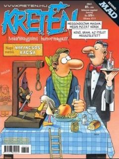 Go to Kretén Magazine #81 • Hungary • 1st Edition - Kreten