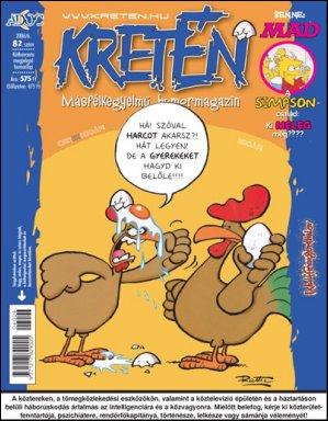Kretén Magazine #82 • Hungary • 1st Edition - Kreten