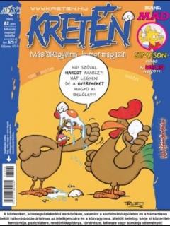 Go to Kretén Magazine #82 • Hungary • 1st Edition - Kreten