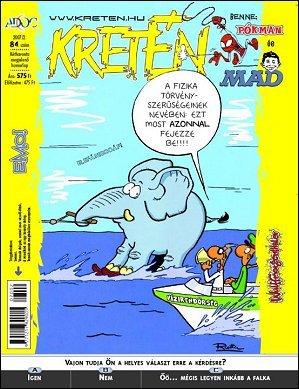 Kretén Magazine #84 • Hungary • 1st Edition - Kreten
