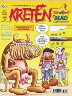 Go to Kretén Magazine #87 • Hungary • 1st Edition - Kreten