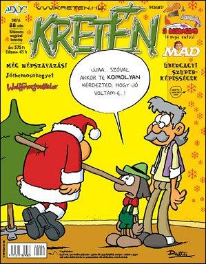 Kretén Magazine #88 • Hungary • 1st Edition - Kreten