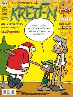 Go to Kretén Magazine #88 • Hungary • 1st Edition - Kreten