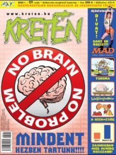 Go to Kretén Magazine #89 • Hungary • 1st Edition - Kreten