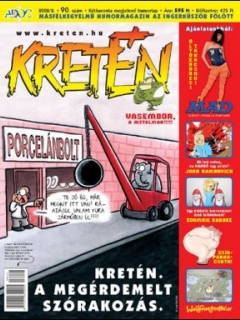 Go to Kretén Magazine #90 • Hungary • 1st Edition - Kreten