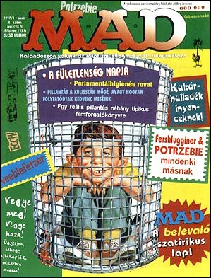 MAD Magazine #1 • Hungary • 2nd Edition - MAD