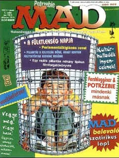 Go to MAD Magazine #1 • Hungary • 2nd Edition - MAD