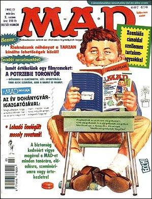 MAD Magazine #2 • Hungary • 2nd Edition - MAD