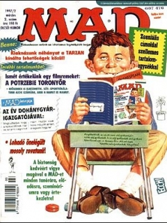 Go to MAD Magazine #2 • Hungary • 2nd Edition - MAD