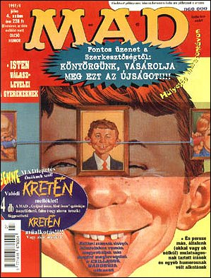 MAD Magazine #4 • Hungary • 2nd Edition - MAD