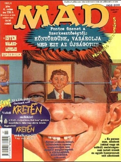 Go to MAD Magazine #4 • Hungary • 2nd Edition - MAD