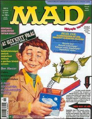 MAD Magazine #6 • Hungary • 2nd Edition - MAD