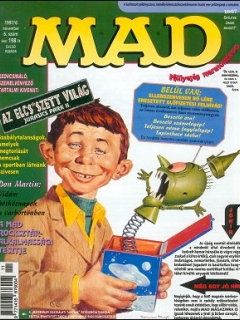 MAD Magazine #6 • Hungary • 2nd Edition - MAD