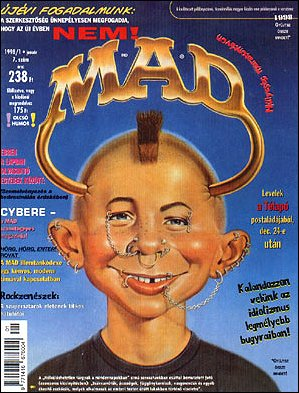 MAD Magazine #7 • Hungary • 2nd Edition - MAD