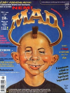 Go to MAD Magazine #7 • Hungary • 2nd Edition - MAD