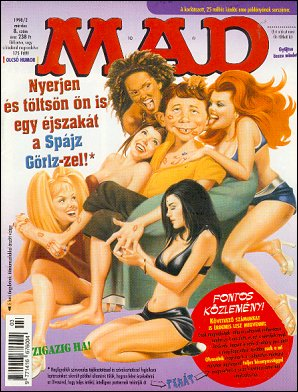 MAD Magazine #8 • Hungary • 2nd Edition - MAD
