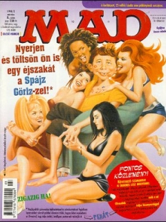Go to MAD Magazine #8 • Hungary • 2nd Edition - MAD