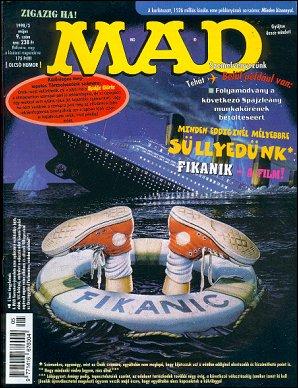 MAD Magazine #9 • Hungary • 2nd Edition - MAD