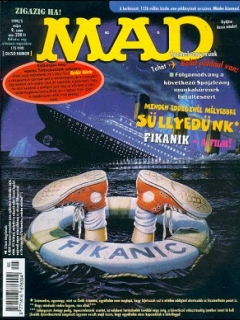 MAD Magazine #9 • Hungary • 2nd Edition - MAD