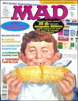 MAD Magazine #10 • Hungary • 2nd Edition - MAD