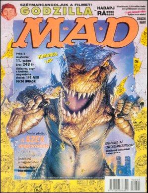 MAD Magazine #11 • Hungary • 2nd Edition - MAD