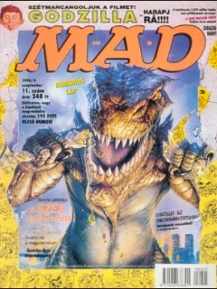 Go to MAD Magazine #11 • Hungary • 2nd Edition - MAD