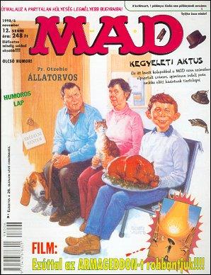 MAD Magazine #12 • Hungary • 2nd Edition - MAD