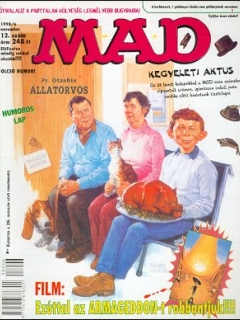 Go to MAD Magazine #12 • Hungary • 2nd Edition - MAD